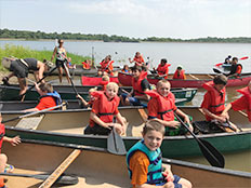 Excursions and Special Events - Wetlands Canoe Trip