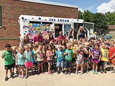 Excursions and Special Events - Every Monday is ice cream truck day in the summer