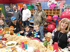 Excursions and Special Events - Grandparents Thanksgiving Supper