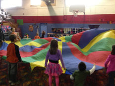 Parachute in The Gym
