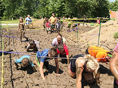 School-Aged - mud race