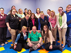 Staff Group Photo - Robins Nest Learning Center