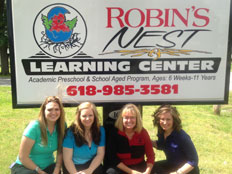 Robins Nest Learning Center Staff